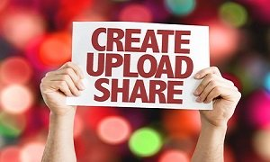 Create Upload Share Main