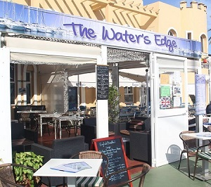 The Water's Edge Cafe Bar, Fuengirola Port, Malaga, Spain