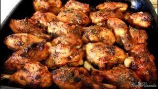 Garlic Oven Baked Chicken Recipe (JAMAICAN WAY OF COOKING !!)