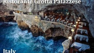 Ristorante Grotta Palazzese - Most romantic restaurant in the world a must see - Italy